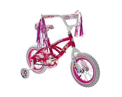 "Hello Kitty Girls 12"" Bike, Small, Pink/White"