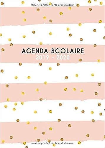 Amazon.com: Agenda scolaire 2019 2020: Agenda Scolaire ...