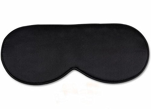 Navy Premier Buffalo (Henrietta Keeton 100% Silk Sleep Mask eye mask for Sleeping-Soft Sleeping Mask Adjustable Blindfold Eyeshade for Men Women and Kids ,Comfortable Eye Cover for Travel Nap Shift Work (Black))