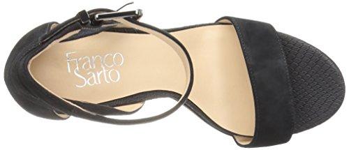 Franco Sarto Donna Sandalo Con Tacco Malibu Nero