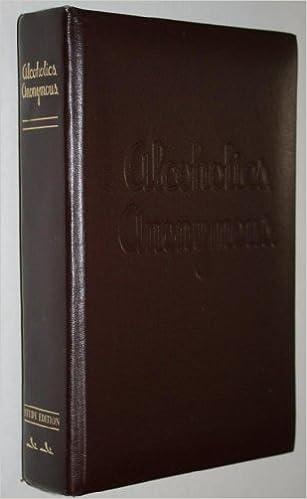 Amazon.com: The Anonymous Press Study Edition of Alcoholics ...