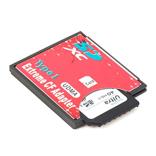 100/% Single Slot Extreme for Micro SD//SDXC TF to Compact Flash CF Type I Memory Card Reader Writer Adapter Newest