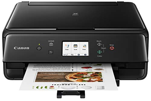 Canon 2986C002 PIXMA TS6220 Wireless All in One Photo Printer with Copier, Scanner and Mobile Printing, Black Canon Fax Inkjet Cartridges