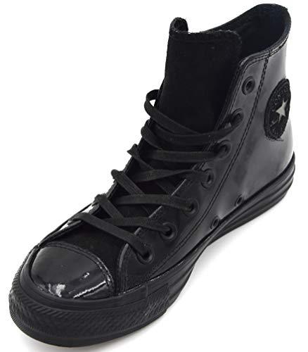 Casual Scarpa Black Nero Ct Art Tempo Donna Libero 550606c Sneaker Hi Converse Rt51qx6w