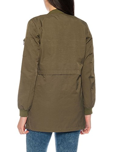 ONLY Damen-Jacke onlTurn Jacket Übergangsjacke Grün bIL2nl ... 85517c79fe