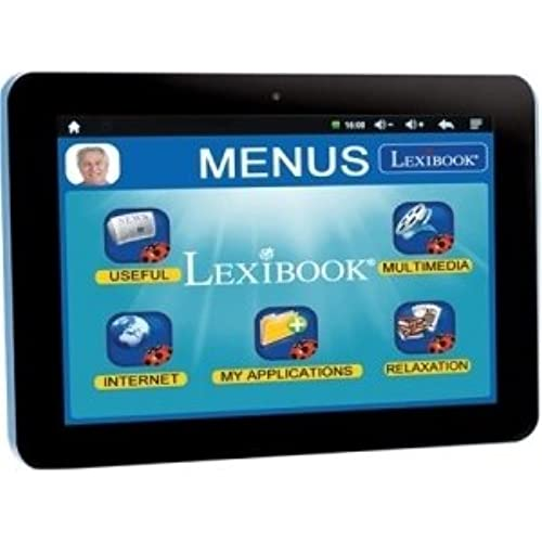 Lexibook S.A - Lexibook Tablet Serenity For Seniors - Extra Large Icons - Quick App Link - 12,000 Apps - Multimedia - Skype- 15 Languages App Coupons