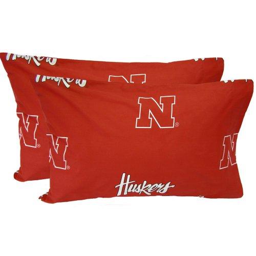 Nebraska Cornhuskers Printed Standard Pillow Case ()