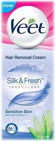 Veet Sensitive Skin Hair Removal Cream - 50 g