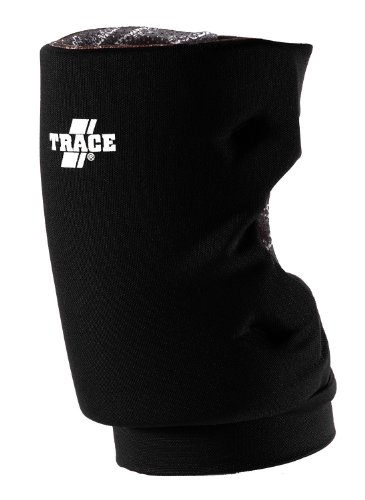 Adams USA Trace Short Style Softball Knee Guard (Medium, Black)