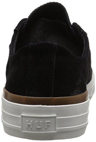 HUF - Zapatillas de skateboarding para hombre Black Gum