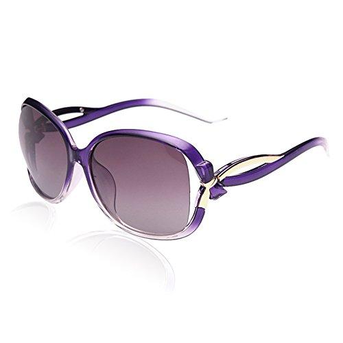 Femmes UV Lunettes Lentille Soleil Protection 100 de Cadre Pourpré pour Duco polarisées 2229 Pourpre de X4ZTST