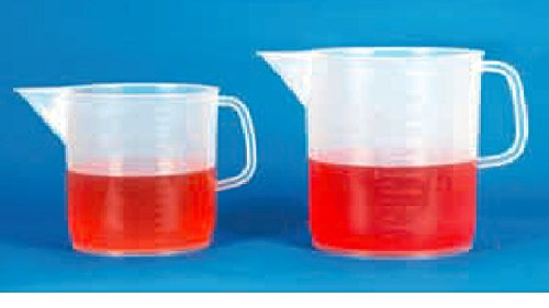 Measuring Jug 1000ml PP (6 beakers per package)