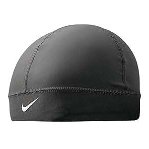 Nike Pro Combat Youth Banded Skull Cap (Black, Osfm)