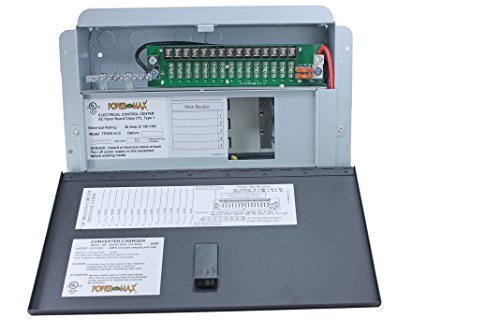 Powermax-Electrical-Control-Center-Distribution-Panel-110v-to-12-volt-45-amp-battery-charger