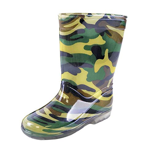 - Mudrocks Child's Camouflage PVC Wellington Boots UK 10 (EU 28) Multicolour