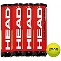 HEAD Championship Tennis Ball Can (Pack of 4)