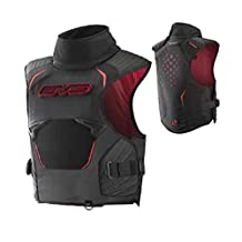 EVS SV2 Pro Trail Vest Adult Snowmobile Body Armor - Black/Red / X-Small/Small