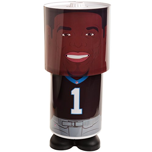 NFL Carolina Panthers Cam Newton Unisex Newton C. #1 Desk Lamp, One Size