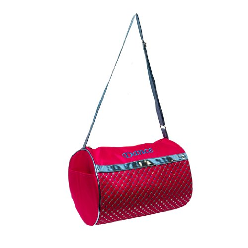 Dance Duffle Bag Fuchsia & Metallic Blue Sequin