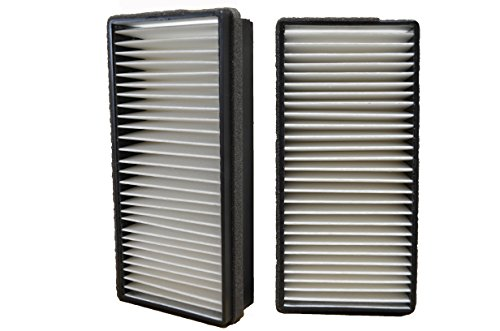PT Auto Warehouse CF069P2 - Cabin Air Filter - 1 Set with 2 - Van Venture 2005 Chevrolet