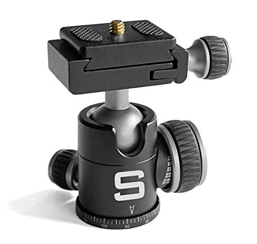 Optional Ball Head with Quick-Release Fastener ()