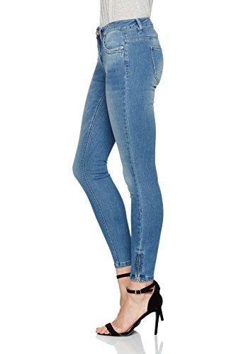 Jeans Bleu Blue Only Femme Denim Medium 4af66x7n