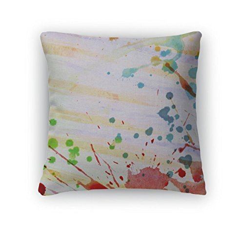 gear-new-purple-throw-pillow-16x16-abstract-colorful-painted-watercolor-splash-and-stain
