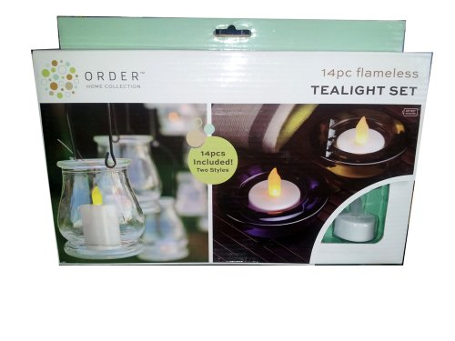 Order Home Collection 14 Piece Flameless Tealight Set