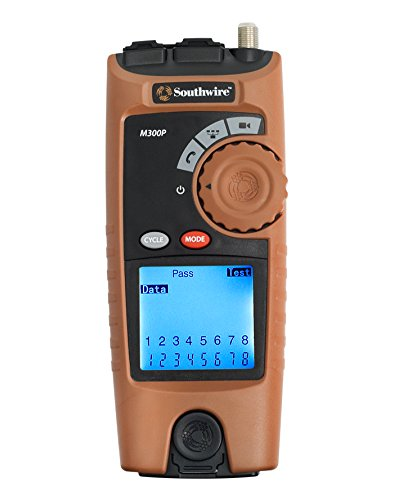 Southwire Tools & Equipment M300P Professional VDV Cable Mapper, Network Cable Tester
