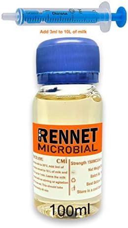 rennet ideal Microbiale Vloeibare Coagulant 100mlvoeg 3ml per 10L melk Kaasstollingsmiddel Niet GMO Kosjer Halal toe