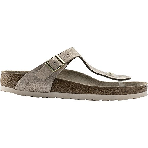 2ea7ed2d0970 Galleon - Birkenstock Gizeh Washed Rose Leather Unisex Sandal 42 N (US  Women s 11-11.5)