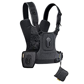 Image of Camera & Camcorder Straps Cotton Carrier G3 Dual Camera Harness for 2 Camera's Gray