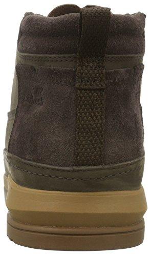 sde Uh Cryser Brown dark Boxfresh Alte Uomo Marrone Lea Sneaker 4HSfR