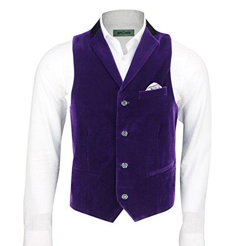 Xposed - Gilet - Homme violet violet poitrine  60