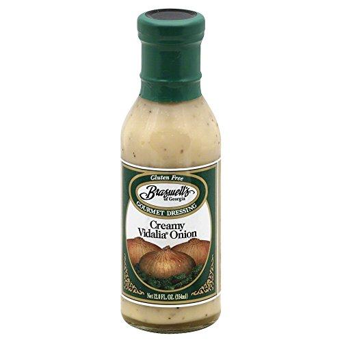 Braswell, Drssng Vidalia Creamy, 12 OZ (Pack of 6) (Creamy Vidalia Onion Dressing)