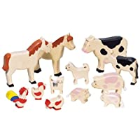 Goki Farm Animals Toy Figure