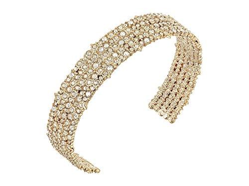 Alexis Bittar Cuff Bracelet - Alexis Bittar Women's Crystal Lace Cuff Bracelet 10k Gold One Size
