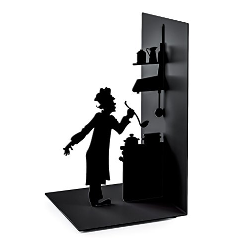 Balvi - Le Chef Metal bookend. Special for Cooking Books.