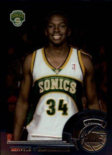 2002 Topps Chrome Basketball Rookie Card (2002-03) #28 Reggie Evans Near (03 Topps Chrome Rookie Basketball)