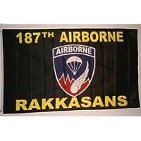 187a bandera tradicional de los rakkasans aerotransportados