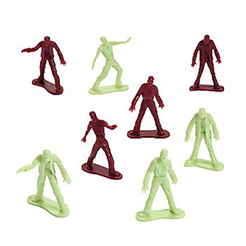 Zombie Figures approx tall plastic