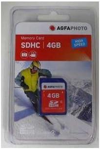 Agfaphoto SDHC 4GB Memory Card Class 4