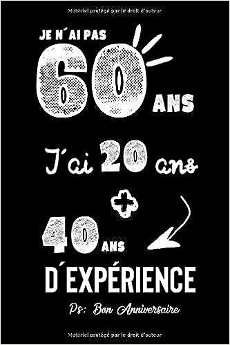 Amazon Joyeux Anniversaire Humour Carnet De Notes Idee Cadeau Pour Celebrer Les 60 Ans De Sa Femme De Sa Copine Son Grand Pere Sa Grand Mere Son Mari Sa Maman Ou Son Papa