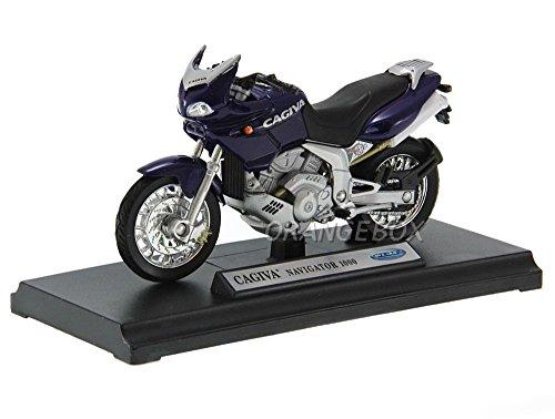 ウィリー Welly 1/18 CAGIVA NAVIGATOR 1000 オートバイ バイク レース スポーツカー ダイキャストカー Diecast Model ミニカー