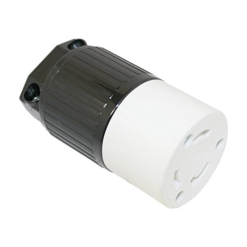 - Superior Electric YGA024F Twist Lock Electrical Receptacle 3 Wire, 30 Amps, 125V, NEMA L5-30R