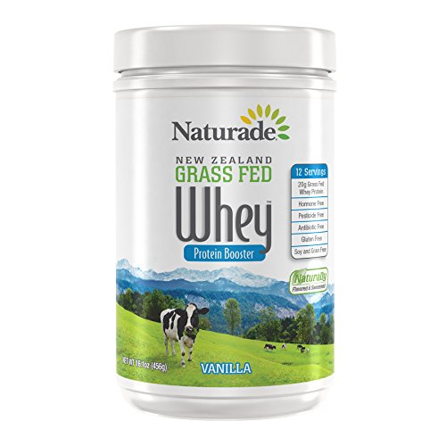 Naturade New Zealand Grass Fed Whey, White Vanilla, 16.01 Ounce