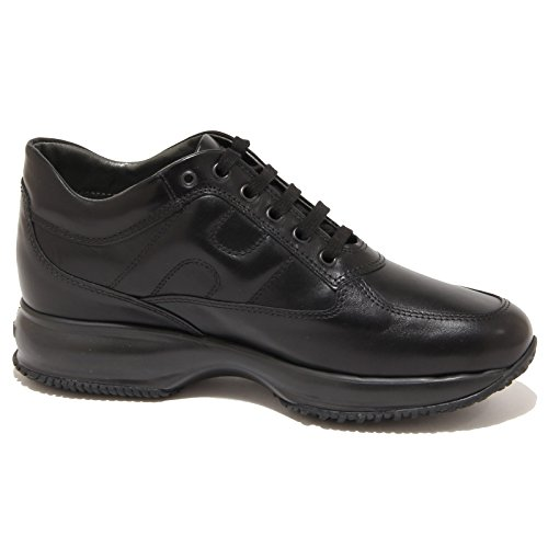 Hogan Donna Nero Interactive Women 8081N Nero Scarpe Shoes Sneaker gq6gBxr