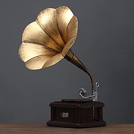 GFEI Vintage Tocadiscos Platos Plancha/Salon Decoracion Modelo ...