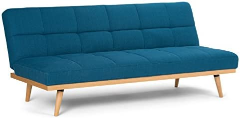 Simpli Home Spencer Contemporary 72 inch Wide Sofa Bed