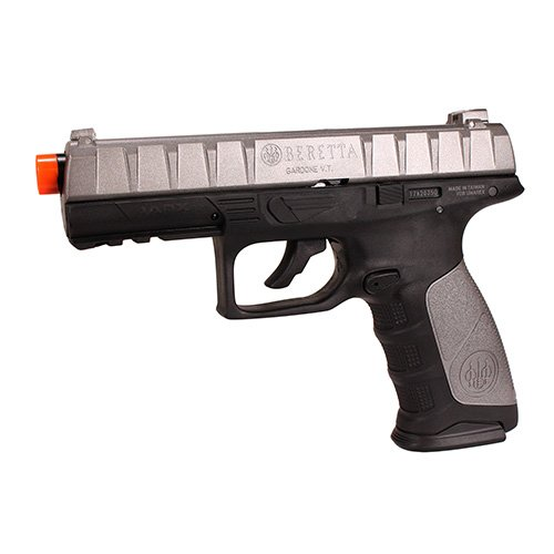 Beretta APX Blowback 6mm BB Pistol Airsoft Gun, Black/Grey
